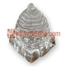Picture of Crystal Sri Yantra For Wealth, Good Luck