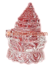 Picture of Crystal  Shree Yantra on Lotus