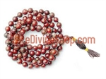 Picture of Bloodstone Mala to Bring Strength of Mind &amp; 