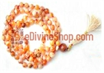 Picture of Carnelian Mala For Goodluck, Comfort and Protection