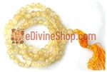 Picture of Citrine Mala For Undisturbed Sleep and Removal of Fears