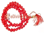 Picture of Red Coral Mala For Energy and Prosperity