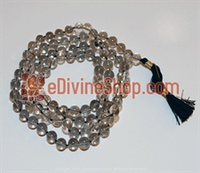 Picture of Smoky Quartz Mala to Brings Abundance, Prosperity, and Good Luck