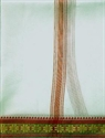 Picture of Off White coloured Puja dhoti
