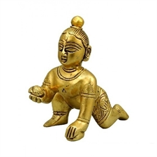 Picture of Bal Gopal Statue in Brass