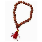 Picture of 27 Beads Rudraksha bracelet (Japa Mala) Bead Size 10mm