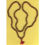 Picture of Rudraksha Mala Medium Big -- 108 Beads