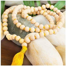 Picture of Tulsi Mala Beads - Superior Grade Tulsi Wood