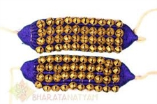Picture of Ghungroo Pair for Bharatanatyam Dance with 4 Lines of Brass Bells