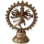 Picture of Dancing Shiva Natraj Brass Statue Sculpture