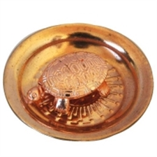 Picture of Copper Sarviccha Tortoise Yantra