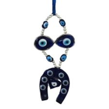 Picture of Small Evil Eye Horse Shoe