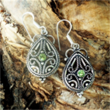 Picture of Ethnic Stone Earring SE20