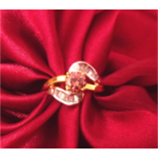 Picture of Ethnic's Cut Stone Ring ADR01