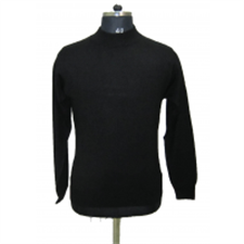 Picture of Mens T Neck Basic Sweater Black