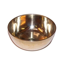 Picture of Ancient Wisdom Brass Sing Bowl - Medium - Approx 12cm