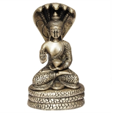 Picture of Brass Buddha Sitting Statue Collectible